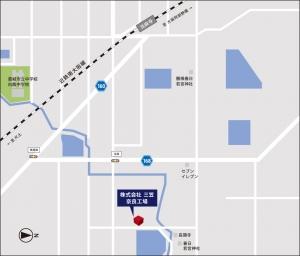 株式会社三笠奈良工場 地図