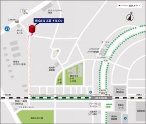 株式会社三笠本社 地図